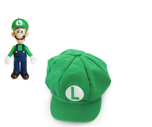 帽子 ルイージ